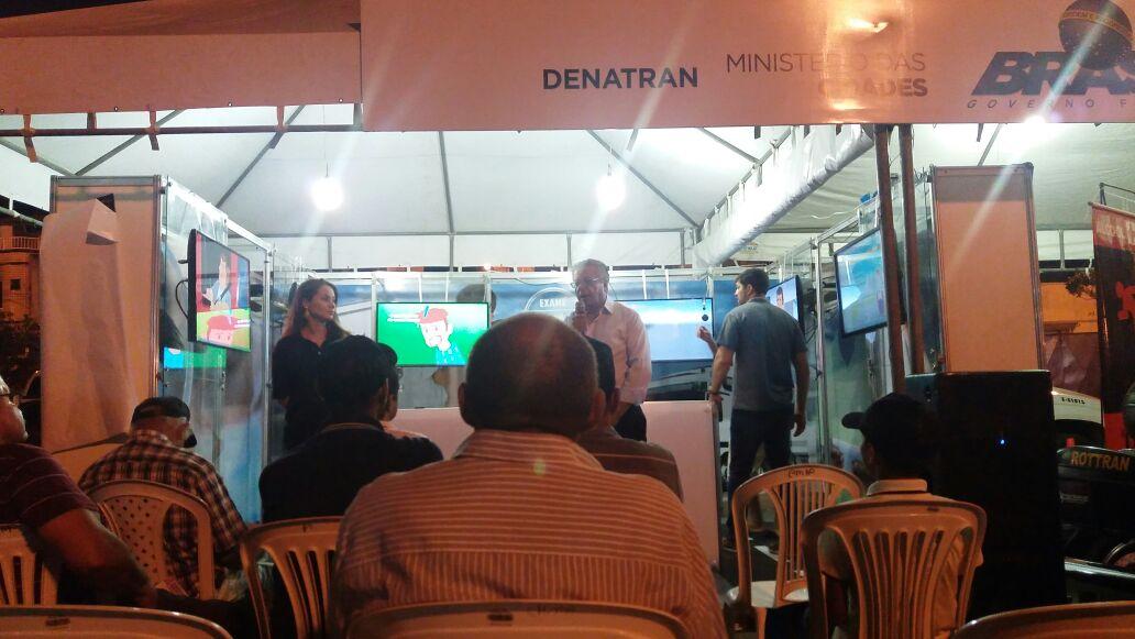 A festa de Itabaiana reuniu caminhoneiros interessados em exames toxicológicos