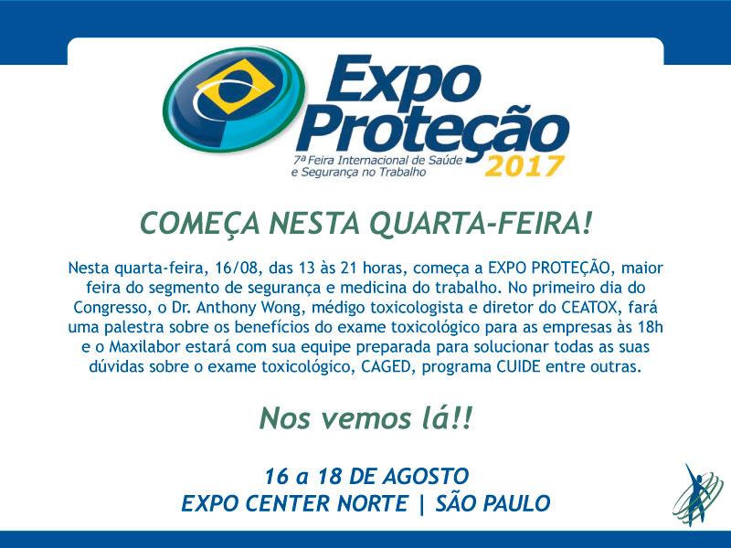 Expo Proteção começa nesta quarta-feira
