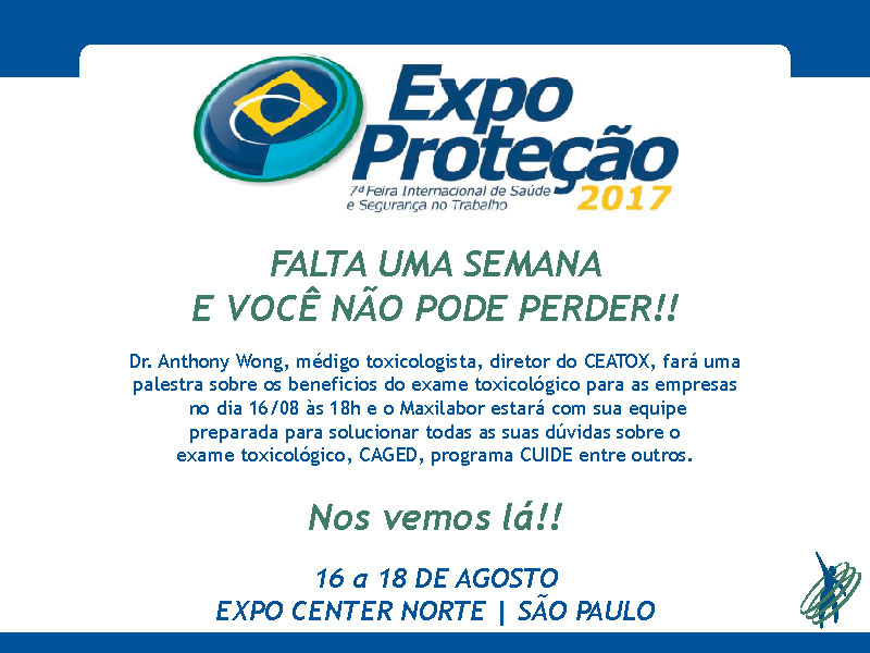Maxilabor participará da Expo Proteção