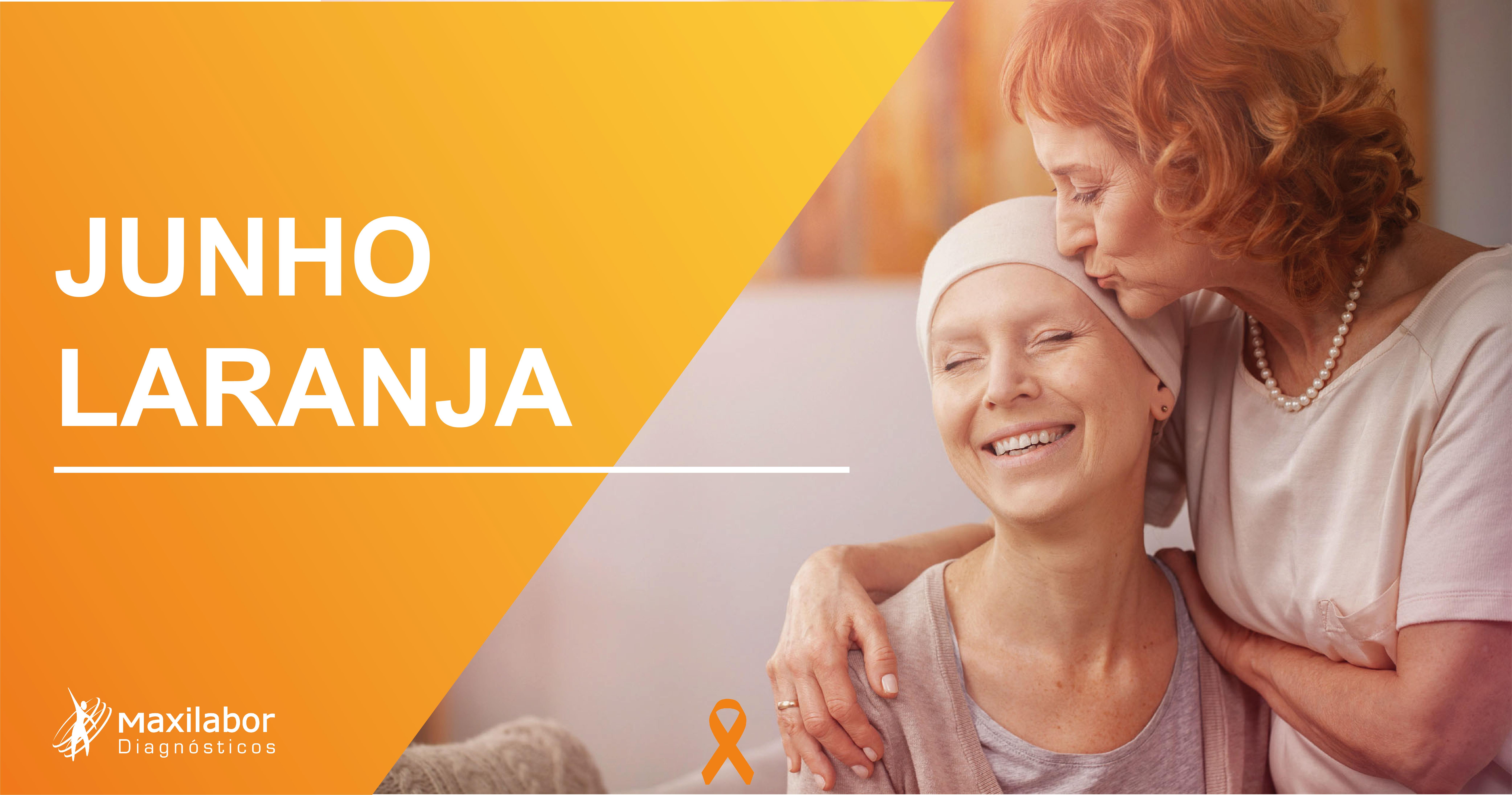 Junho Laranja – Mês de combate à Leucemia e Anemia